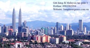 Gửi hàng đi Malaysia tại quận 1 | Chuyển phát nhanh DHL quận 1
